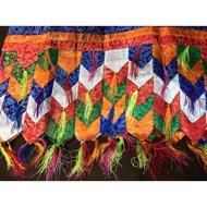 〔觀音宗教文物〕結界布/八吉祥帷幔 / 佈置佛堂藏式掛簾(產地西藏)