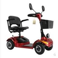 老年代步車四輪成人電動車殘疾人助力車觀光車老人車 LX  居家