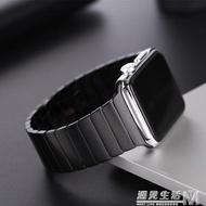 apple watch3/2錶帶蘋果手錶金屬帶iwatch4/5不銹鋼帶 遇見生活