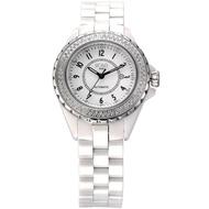 【HOGA】知性陶瓷女士機械錶(兩色選擇-37mm)