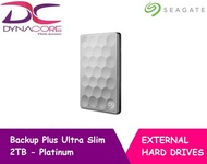Seagate Backup Plus Ultra Slim 2TB - Platinum