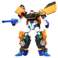 麗嬰兒童玩具館~韓國 CARBOT衝鋒戰士-變形機器人(飛天/艾斯/霍克/酷雷)