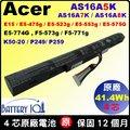 Acer 電池 (原廠) AS16A8K 宏碁電池 Aspire E15 E5-475G E5-575G E5-575T E5-575TG E5-774G F5-573G F5-573T AS16A7K AS16A5K P249