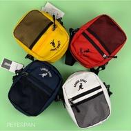 [現貨] Kangol 袋鼠 小側包 肩背包 腰包 黑/白/深藍/紅/黃<全新正品>【彼得潘】