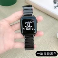 สำหรับนาฬิกาแอปเปิ้ล Iwatch6-5 3-4 Generation 2สายคล้อง Applewatch เซรามิค Se โลหะเหล็กสแตนเลสสตีล40-44 Mm42โลโก้ยอดนิยม SeriesS ชายหญิงหญิง1ความคิดสร้างสรรค์ใหม่38 Tide