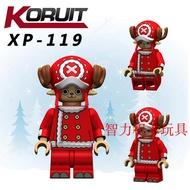超值新款!科睿積木人仔海賊王航海王XP119新年版馴鹿托尼喬巴兼容樂高玩具