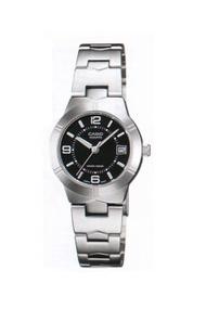 CASIO นาฬิกาผู้หญิง lady สายสแตนเลส รุ่น LTP-1241D-1ADF - Silver