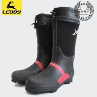 洪武佳積布釣魚鞋 磯釣鞋海釣登礁防滑釘鞋 男款防水雨靴垂釣用品