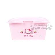 〔小禮堂韓國館〕Hello Kitty 置物提籃《大.粉紅.草莓》輕鬆美化空間