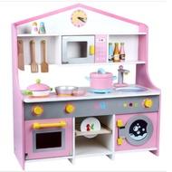 幼樂比 木製仿真廚房套裝組