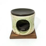 日本陶瓷 萬古燒 古都 燒茶香爐 手作薰香爐