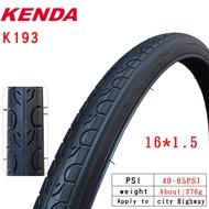 Kenda bike tire k193 steel tire 14 16 18 20 24 26 inch 1.25 1.5 1.75 1.95 20 * 1-1 / 8 26 * 1-3 / 8 mountain road bike tire