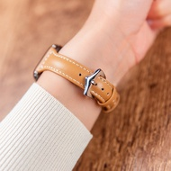 Original สำหรับนาฬิกาแอปเปิ้ล AppleWatch หนังเล็กสายรัดเอว Iwatch4-5-6-SE Qiu Dong หญิงบางส่วน