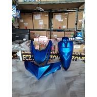 MIO i 125 FRONT FAIRINGS SET GLOSSY BLUE YAMAHA GENUINE PARTS