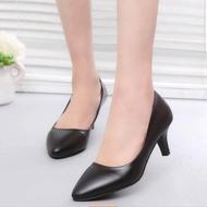 ✨✨รองเท้าคัชชู ผู้หญิง  รองเท้าแฟชั่นเกาหลี ทนทาน ใส่สบาย เสริมบุคลิกภาพ ✨✨