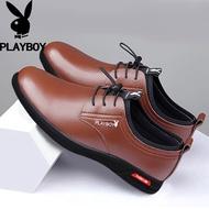 Playboyรองเท้าหนังผู้ชาย,รองเท้าทำงานรองเท้าลำลองเบอร์38-44