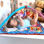 二手*《客訂保留》柏克萊 嬰兒健力架 0-8m 嬰兒玩具 遊戲床墊
