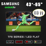 """SAMSUNG Android version TV 2021 NEW MODEL 43"""" 50"""" 55"""" 65"""" TF8 Series LED FLAT WIFI SMART televions FULL HD 4K UHD Free shipping Free warranty for 1 years"""
