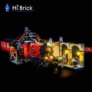 HiBrick燈飾 霍格沃茨特快列車 適用樂高75955積木 LED燈光燈具