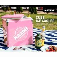 【露戰隊】KAZMI 酷樂彩色小冰箱13L(粉色) 冰箱 冰桶 保溫箱 冰桶置物箱 保鮮桶 保冰桶 K7T3A016PK