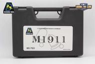 บีบีกัน ยี่ห้อDouble Bell(Bell) รุ่น Colt M1911A1  คุณสมบัติ : #ปืนสั้นอัดแก็สยี่ห้อBell ผลิตจากประเทศจีน #ตัวปืนแข็งแรงทนทาน #ระบบโบลวแบ๊ค (ทำงานคล้ายปืนจริง) #ลูกกระสุนหมดปืนจะค้างสไลต์ #สามารถรองรับแก็สแรงได้ #ความแรง 300+
