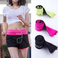 Unisex เข็มขัดสำหรับวิ่ง Pinggang BEG Pek Untuk Wanita Gim Marathon โทรศัพท์กระเป๋าสตางค์กระเป๋า Aksesori BEG Sukan กระเป๋าคาดเอว Wanita