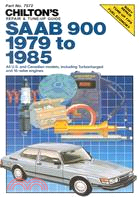 15482.Chilton's Repair and Tune-Up Guide: Saab 900, 1979 to 1985 Chilton Book Company