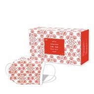 【匠心-三層平面醫用口罩-L尺寸】古典系列-吉祥款 每盒30入  (適合一般成人)