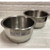 廚神 (現貨) 頂級316不鏽鋼特厚 厚釜調理鍋 內鍋 燉鍋 萬用鍋 湯鍋 萬能鍋 料理鍋