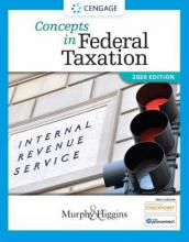 Concepts in Federal Taxation 2020 (with Intuit Proconnect Tax Online 2018 and RIA Checkpoint 1 Term (6 Months) Printed Access Card)