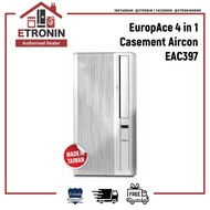 EuropAce 4 in 1 Casement Aircon EAC 397