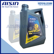 Aisin 5W40 FULLY SYNTHETIC Engine Oil/Motor Oil (GAS / DSL) 4LITERS