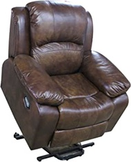 Electric Recliner Chair Lazy Boy Sofa for Elderly, Electric Riser And Recliner Mobility Riser Chair with Heating Massage Vibration, USB Charging, Storage Function