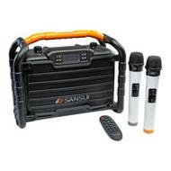 【SANSUI山水】重低音戶外手提行動KTV音響 SS2-K55
