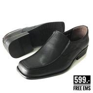 รองเท้าคัทชู Baoji BJ3375 รองเท้าคัชชูดำ รองเท้าคัดชู รองเท้าคัตชู รองเท้าคัทชูส์ รองเท้าหนังชาย รองเท้าคัทชูชาย