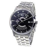 Orient ORIENT Mens Calendar model Black dial Automatic watch SEU0A007BH Made in Japan