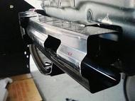 (柚子車舖) HONDA 2013-2016 CRV4 CRV4.5 後保桿內鐵含吸震保麗龍 台製品