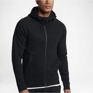 Nike Jordan Sportswear 黑 內刷毛 長袖 連帽外套 男 (布魯克林) 860197-010