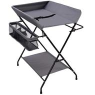 尿布台 尿布台嬰兒護理台新生兒寶寶換尿布台按摩撫觸洗澡台多功能可折疊JD BBJH