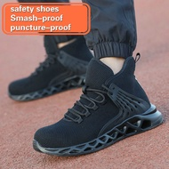 Men safety shoes Indestructible Shoes Ryder Steel Toe Boot Safety Military Work Sneakers size38-48