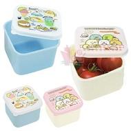 日本製角落小夥伴方形密封保鮮盒組角落生物食物盒小餐盒水果盒 兩入一組/700665