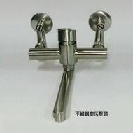 【大巨光】不鏽鋼廚房壁式水龍頭(LV-05)