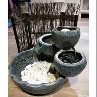 陶瓷 風水流水盆(非新品)