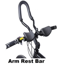 2017 new Bicycle Road Bike Bar Triathlon Handlebar Arm Rest Bar Clip on Aero Handlebar