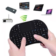 2.4Ghz Wireless Fly Air Mouse Keyboard US Layout Touchpad Klavye Gaming Teclado Sem Fio for Computer
