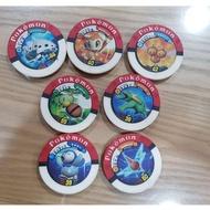 神奇寶貝 POKEMON 寶可夢 正版 戰鬥 圓盤 卡匣  保存良好 便宜賣