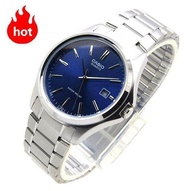 CASIO Standard Analog รุ่น  MTP-1183A-2ADF นาฬิกาผู้ชาย สายสแตนเลส หน้าปัดสีน้ำเงิน (สินค้าขายดี) -มั่นใจ ของแท้ 100% ประกันศูนย์ 1 ปีเต็ม