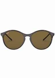 Rayban Round Brown Sunglasses