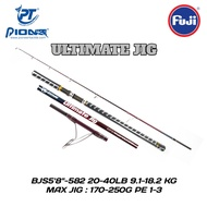 Pioneer Ultimate Jig Bjs 5 Fishing Rod Mio; 8 582 Pe 1 + @ 3