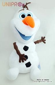 【UNIPRO】冰雪奇緣 FROZEN 雪寶 超大絨毛玩偶 娃娃 50公分 迪士尼正版授權 小朋友的聖誕禮物 雪人 聖誕裝飾